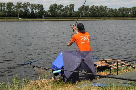 Finale Nationale Topcompetitie Feedervissen