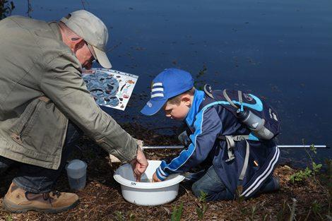 Op zoek naar watermonsters