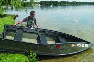 Flexibel opvouwbare portable compacte boot makkelijk meenemen mobiel