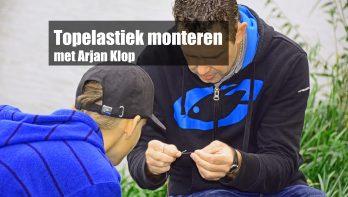 Elastiek in vaste hengel monteren met Arjan Klop