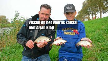 Vissen op het Voorns kanaal met Arjan Klop