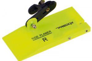 De Predox Mini Planer Board met Ball Bearing Clip System maakt vissen op een vast ingestelde diepte een gemakkelijke optie voor elke visser.