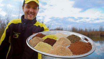 Een witvis voer maken: spelen met melen