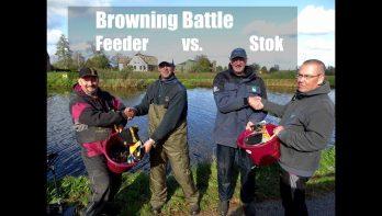 Beet Battle stok versus feeder aan de Oude Rijn
