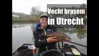 Brasem vangen op de Utrechtse Vecht