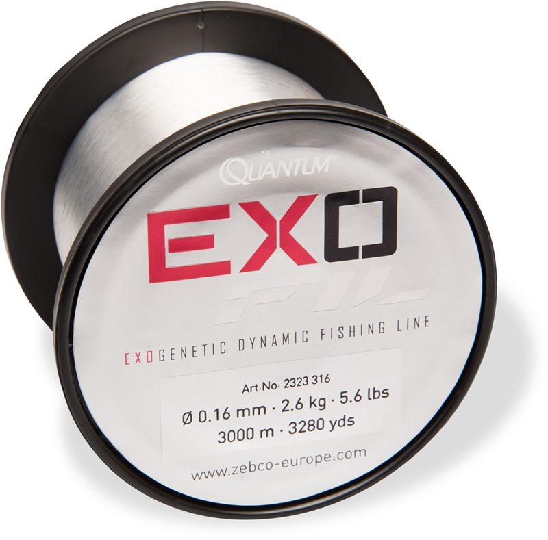 Exofil is leverbaar op spoelen van 300 en/of 3000 meter.