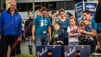Stekkie Kids Parcours tijdens VISMA 2018