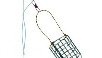 Drie feedermontages voor witvis