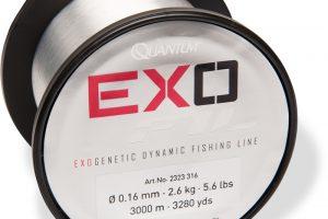 Door het gebruik van de hoogste kwaliteit Japans polyamide is de Quantum Exofil bijzonder sterk, zowel qua trekkracht als op de knopen.