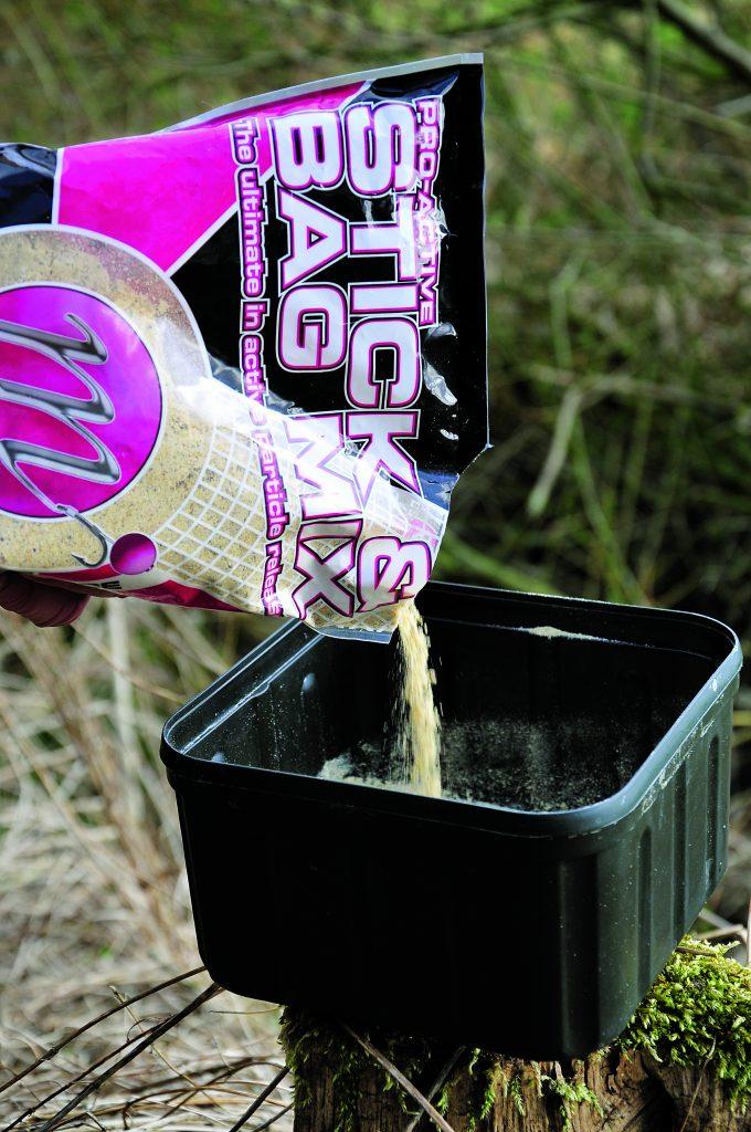 Graskarper pva stick voermix