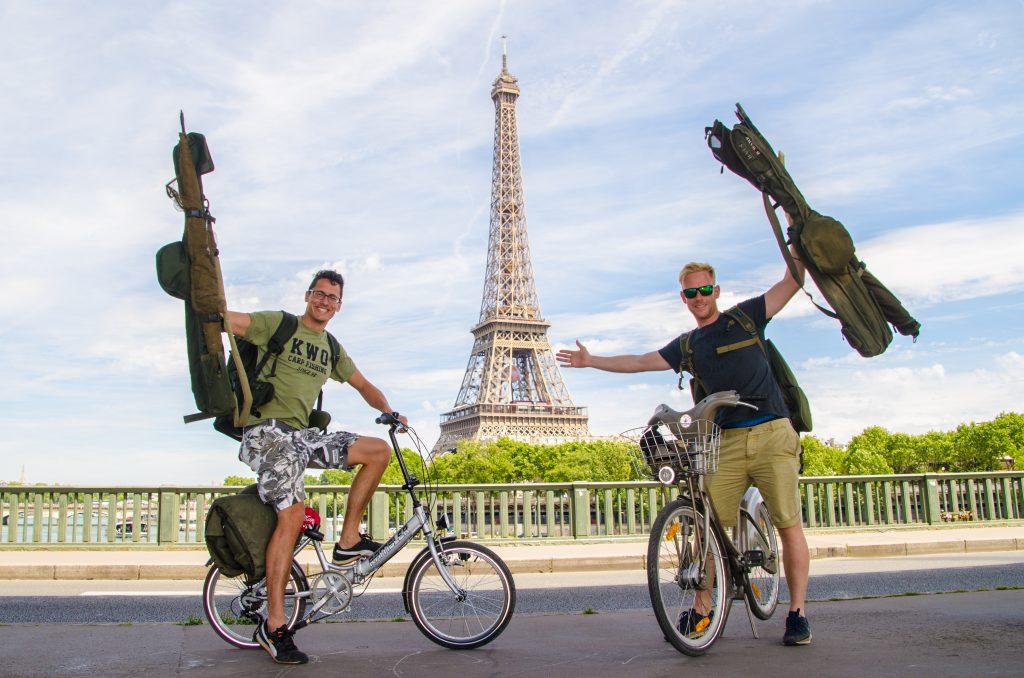 Trip KWO Mark Hofman Michiel Pilaar Parijs