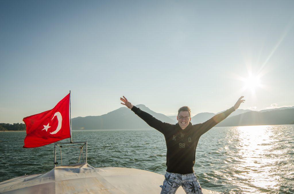 Michiel Pilaar van KWO in Turkije