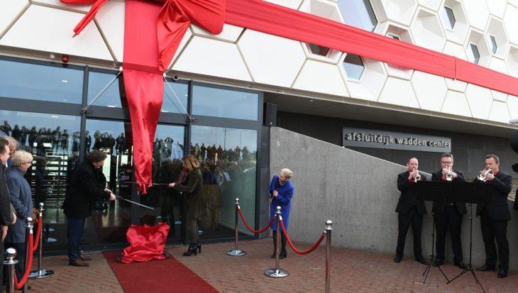 Afsluitdijk Wadden Center geopend