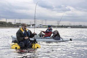 Het Oostvoornse Meer vormt komende zondag 18 maart het decor voor de een-na-laatste aflevering van dit VIS TV-seizoen. Ed en Marco vissen hier vanuit de kajak en bellyboot met licht materiaal op bot.