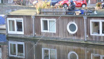 Witvissen in Amsterdam