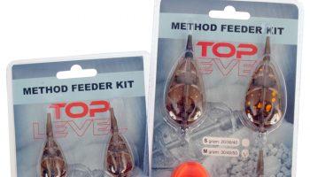 De meegeleverde soft method mal van de Albatros Toplevel Method Feeder Kits wordt gebruikt in combinatie met de flat method feeders in deze verpakking.