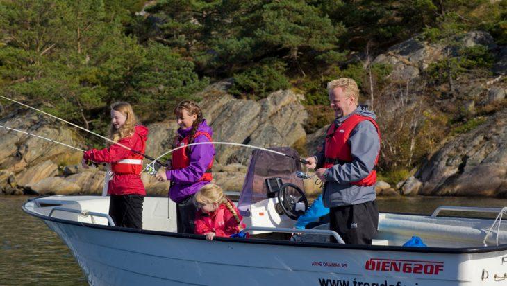 Een kindvriendelijke visvakantie
