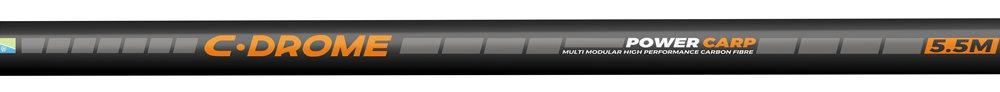 De 5,50 meter lange, vijfdelige vaste hengel heeft een gewicht van 430 gram. Adviesprijs € 64,95.