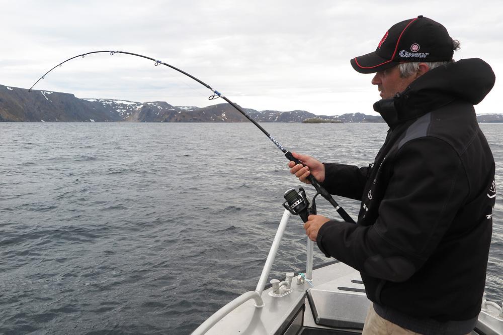 Wie wil er nu niet op de meest noordelijke vislocatie van Europa gevist hebben?