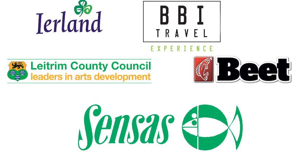 De King Of Clubs wordt mede mogelijk gemaakt door: Leitrim County Council, BBI Travel, Sensas, Ierland Tourisme en Beet.