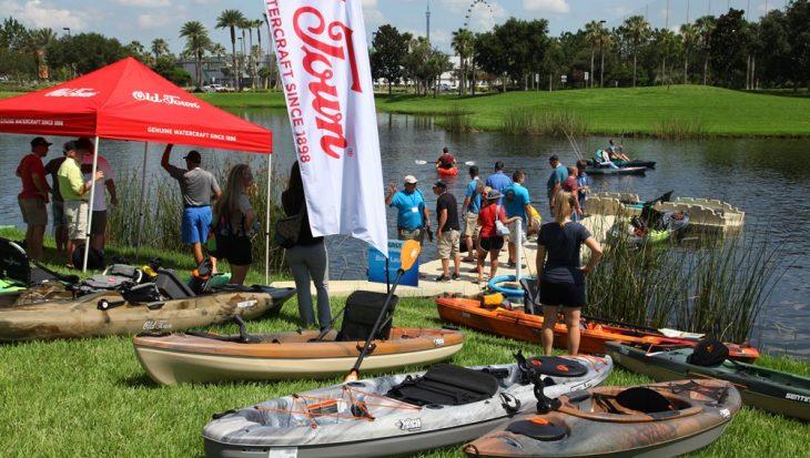 Vakbeurs ICAST – IFTD Show begint op en aan het water