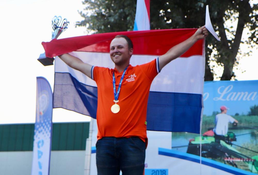 Luciën de Rade Wereldkampioen Individueel U25!