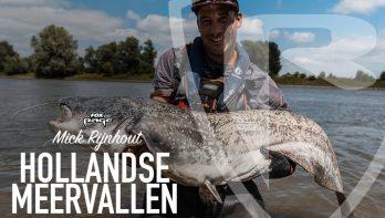 Extreem vissen op meerval met Mick Rijnhout