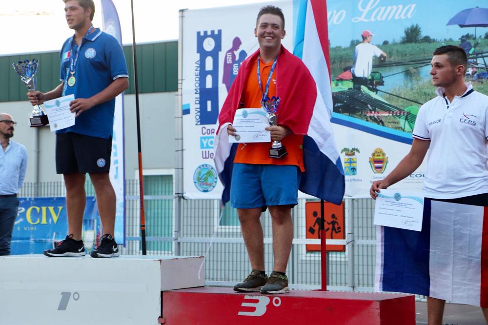 Nick-Eestermans haalde individueel brons (U20).