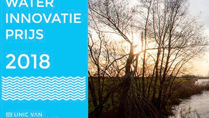 Inschrijving Waterinnovatieprijs verlengd tot en met 4 september