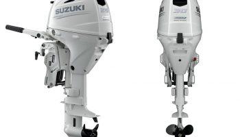 Suzuki heeft twee nieuwe, superzuinige, lichtgewicht buitenboordmotoren aan zijn range toegevoegd: de DF25A en de DF30A.