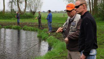 Fly Fishing Academy, verzorgt cursussen vliegvissen voor beginners en gevorderden.