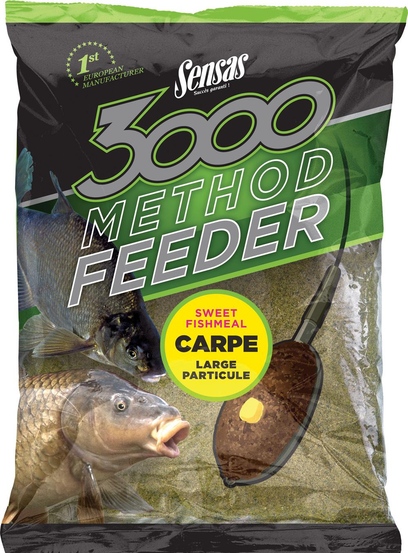 Een aantal van de in totaal zeven mixen bevat een hoge concentratie vismeel, wat met name goed werkt op wateren waar ook veel met boilies gevoerd wordt. Elk van de zakken bevat 1 kg van het lokvoer.