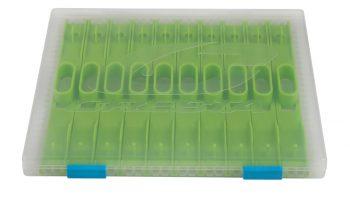 Deze box is ontworpen om langere onderlijnen eenvoudig, snel en overzichtelijk op te bergen.