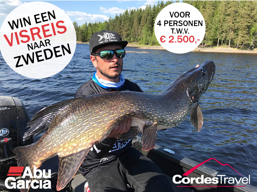 Bij het bestellen van tickets maken bezoekers kans op een visreis naar Zweden voor vier personen t.w.v. € 2.500.