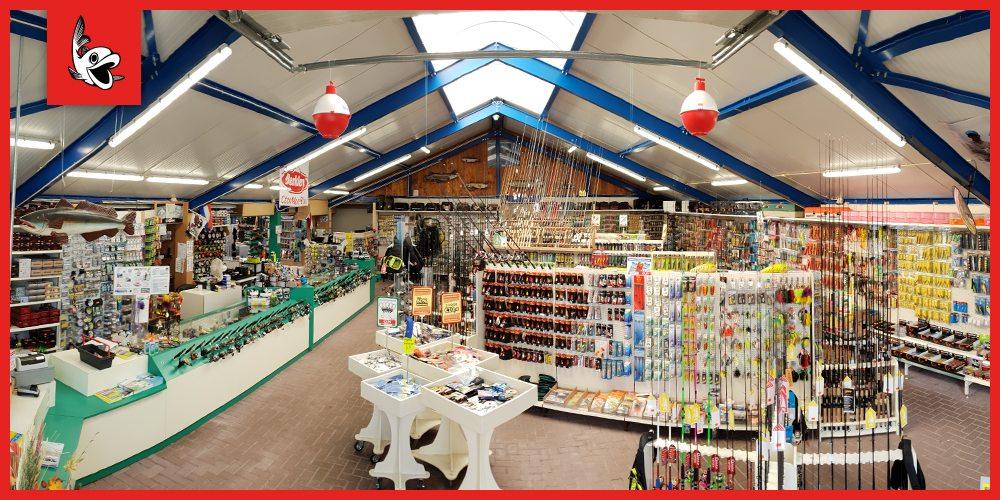 De roofvissers onder de bezoekers kunnen bij Hengeldiscount Gigant heerlijk struinen in het Roofvis-Walhalla van alle bekende merken.
