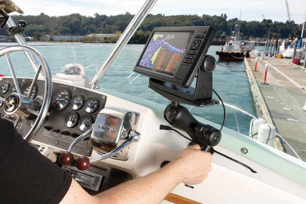 De RAM Hi-Torq Wrench wordt gebruikt voor kaartplotters en fishfinders.