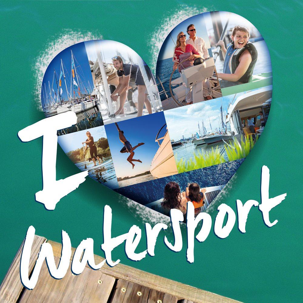 Ik houd van Watersport logo