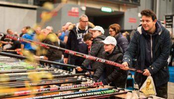 Dit jaar wordt wederom een vaste stokkenshow georganiseerd voor de witvissers; een unieke show met tientallen vaste hengels strak in het gelid naast elkaar.