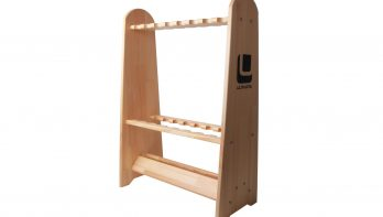 Massief hout; het Ultimate Wooden Rod Rack