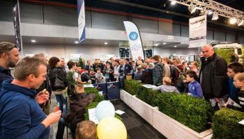 De voorbereidingen van de Hengelsport- en Botenbeurs op 30 november, 1 en 2 december in de Jaarbeurs Utrecht zijn in volle gang.