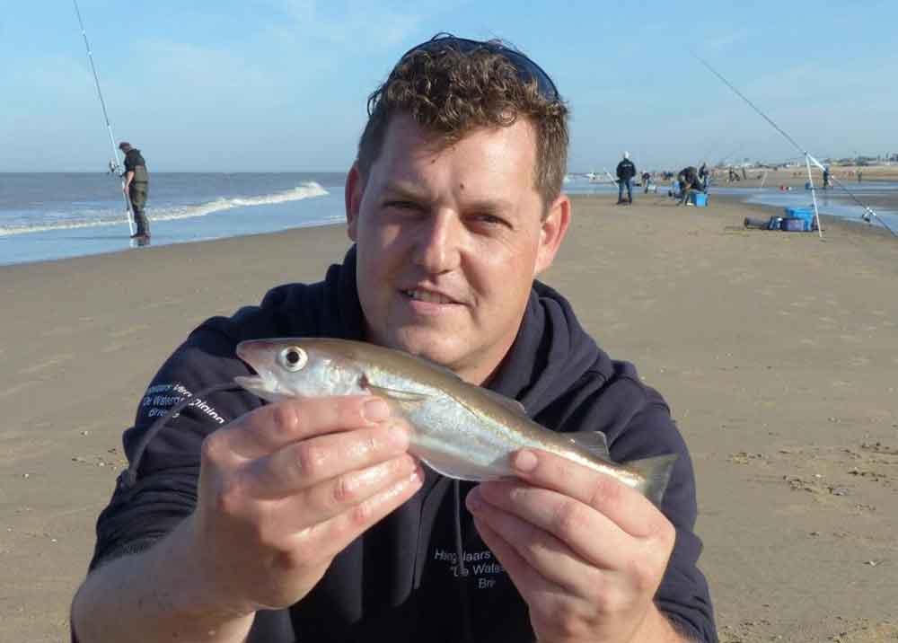 In de overgangsperiode tussen zomer en winter zijn er nu allerlei vissoorten te vangen. En ook van ieder formaat.