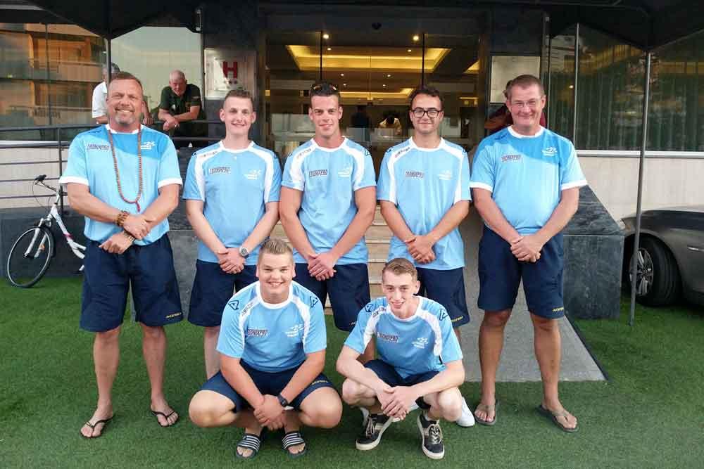 Het U21 team.