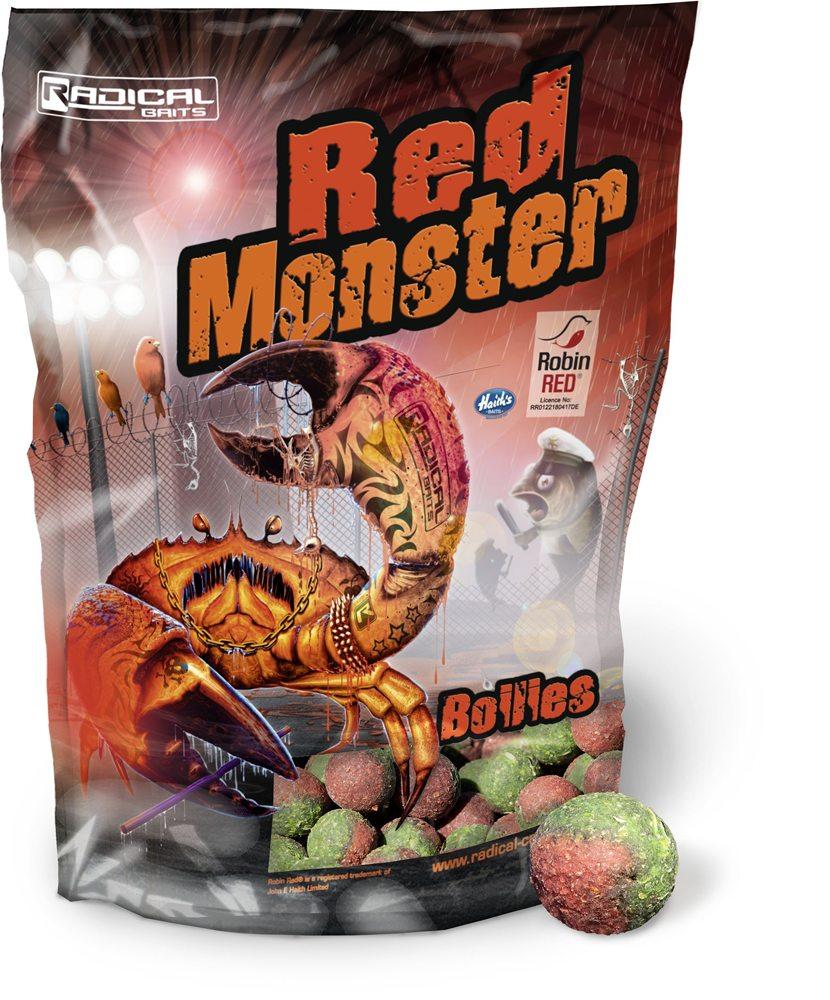 De Radical Red Monster boilie is een aassoort voor moeilijke situaties!