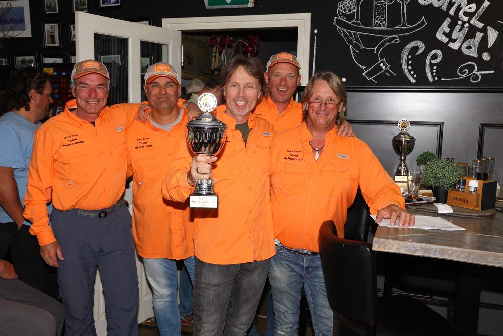Het team van Elbi's Airflo Angels werd voor het vierde jaar op rij Nederlands Kampioen!