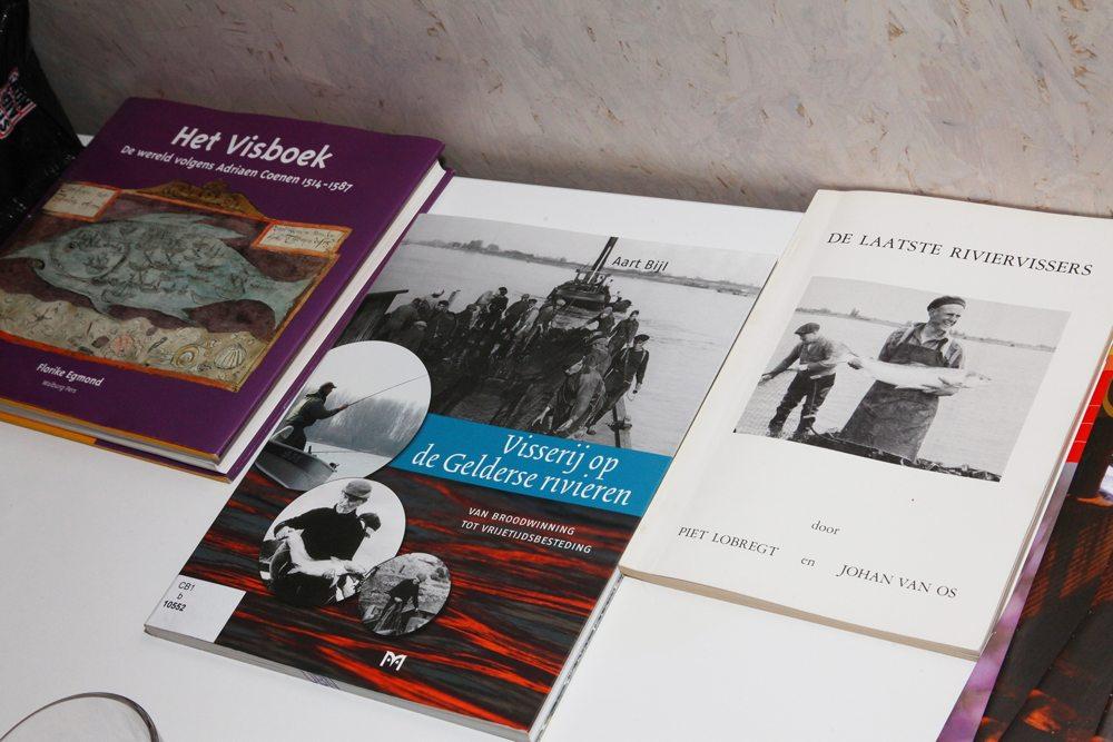 Enkele boeken waaruit in de presentatie geciteerd werd.