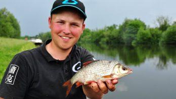 Matchvissen met wereldkampioen Lucien de Rade