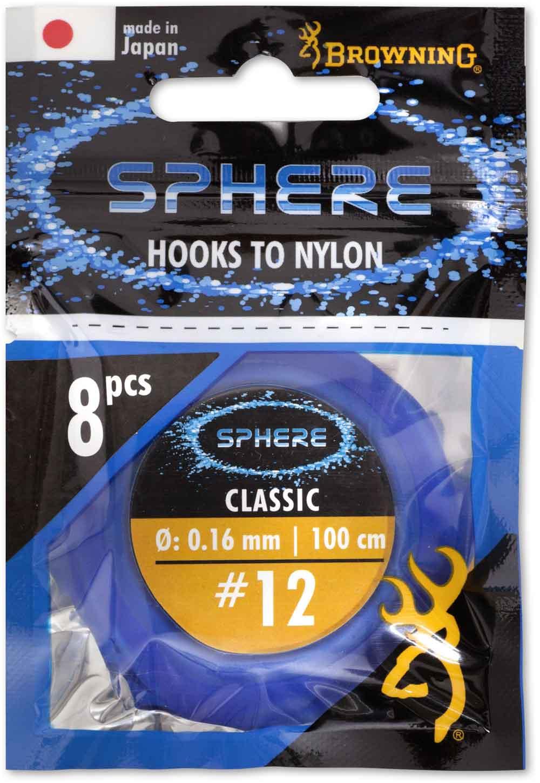De nieuwe Sphere match- en feederhaken zijn straks los leverbaar of als kant-en-klare onderlijn.