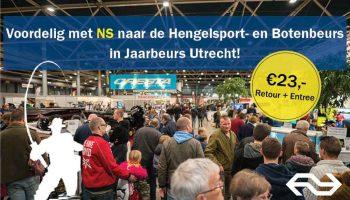 Misschien is het leukste wat je kunt gaan doen: een bezoekje brengen aan de 17e editie van de Hengelsport- en Botenbeurs te Utrecht. Ook voor karpervissers is dit dé beurs van het najaar, dus zorg dat jij erbij bent.