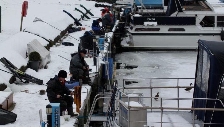 Hotspots winterstekken witvis