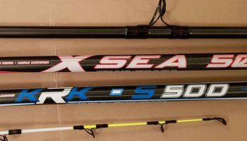 De XSEA 500 en de KRK 500 zijn mede-ontworpen door Ruud van Noord, de wereldkampioen strandvissen.